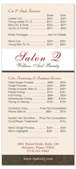BRS-1024 - salon brochure pricelist