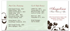 BRS-1029 - salon brochure pricelist