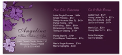 BRS-1032 - salon brochure pricelist