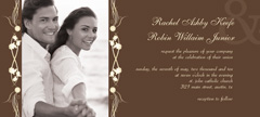 WI-1069 - Photo Wedding Invitation