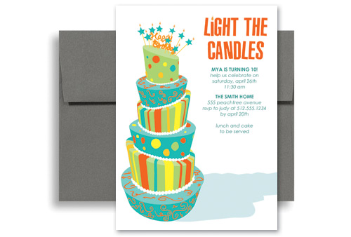 how to make a birthday invitation on word