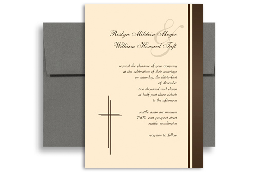 wedding invitation words christian. elegant gold embossed folded, Wedding invitations