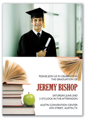 Inexpensive Graduation Announcement Design