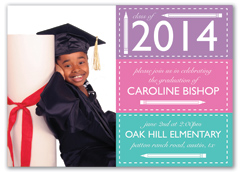 Kids Template Graduation Announcement Design