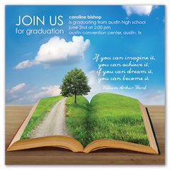 Invitation Quotes Graduation Announcement Sample