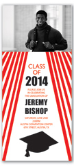 Class Of 2018 Graduation Invitation Example