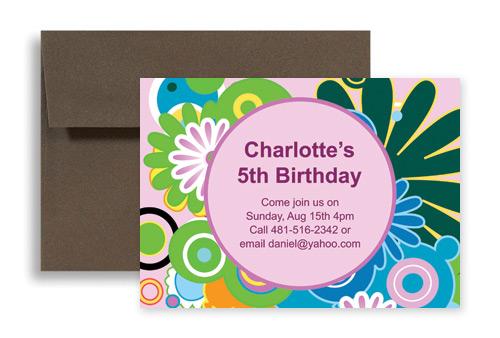 Sample Of Birthday Invitation Card For Kids Invitation Cards For – Birthday Invitation Samples