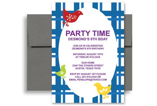 Outdoor Barnyard Bash Bbq Birthday Invitation Wording 5x7